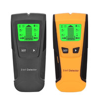 Detectores de metales 3 en 1 Detector Encuentra Studs de madera Voltaje de CA Voltaje Live Scanner Detect Wall Scanner Box Finder