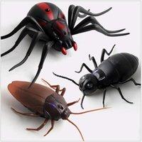 Infrarot RC Fernbedienung Insekten Kakerlaach Spinne Ant RC Tiere Trick Furchtende Unfug Spielzeug Lustige Neuheit Geschenk Y200413
