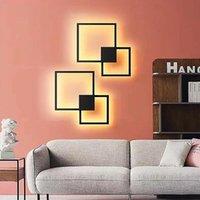 Duvar lambası ev oturma odası için modern minimalist yatak odası dekorasyon yaratıcı desen ışıkları led aplikler ışık armatürleri