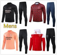 New Mens Arsen soccer soccer tracksuit 2020 2021 football training tracksuit jacket chándal de fútbol survêtement