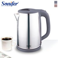 2L Electric Kettle Stainless Steel Kettle Cordless 1500W Household Kitchen Fast Heating Boiling Teapot Pot 220V Sonifer