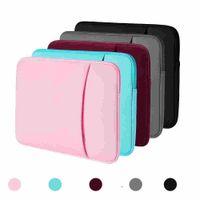 """الحالات كمبيوتر محمول 13 بوصة 12 بوصة 12 """"15"""" ل MacBook Air Pro iPad شبكية عرض 12.9 """"حقيبة لينة غطاء حقيبة تناسب أبل سامسونج دفتر"""