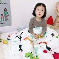 Coperte per bambini che ricevono coperte di cotone morbido trapunta per bambini in cotone