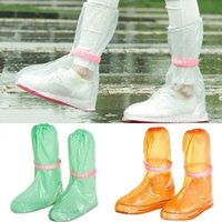 On- slip Unisex Travel Waterproof Rain Shoe Covers Outdoor Ta...