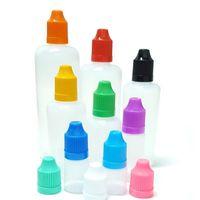 10 قطع فارغة البلاستيك العين قطرة زجاجة l 5ML 10ML 15ML 20ML 30ML 50ML 50ML 100ML 120ML PE الضروري النفط القطارة زجاجة الطرافة jllttv