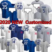 Los Angeles Dodgers Mookie Betts Cody Bellinton Clayton Kershaw Custom Baseball Jersey Justin Turner KobeBryant Hernandez Corey Seager Tukameng2016 nike kobe