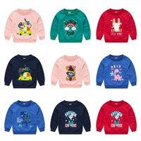 2021 Bambini Ragazzi Ragazze Felpe con cappuccio Cartoon Stampato Felpe Stampato Auntumn Fashion Maglione Felpa con cappuccio Bambini Pullover Tops Casual Sports Vestiti G12704