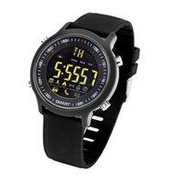 도매 EX18 스포츠 스마트 시계 울트라 롱 스탠바이 Xwatch 수영 Smartwatch IP68 방수 5ATM Passomet Bluetooth 시계