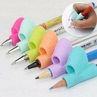50pcs Kid Soft Poisson Porte-crayon Grip Posture Pen