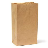 100pcs Bolsas de Regalo / lote 7 tamanhos Kraft presente de papel sacos de sanduíche de pão doce viagem de madeira colorida Wedding Party Favor livre