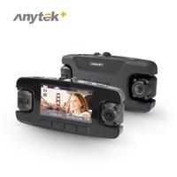 Камеры Dual 720p HD Dash Cam 360 градусов Всасывающая установка 120 Широкий обзор угла обзора с 2,7 дюйма