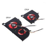 Ventilatore di raffreddamento della CPU della GPU del laptop per MSI GS63 GS63 GS73 GS73 MS63 GS73 GS73 MS-17B1 Stealth Pro CPU BS5005HS-U2F1 GPU BS5005HS-U2L1 Cooler1