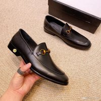 C8 Nouveaux Hommes Robe Chaussures Shadow Break Cuir Prestige Fashion Marié Chaussures Mariage Hommes Luxe Style Italien Style Oxford Chaussures Grande taille 48 33