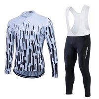 Pro Long Sleeve Cycling Jersey Sets Road Bike Bicycle Shirt ...