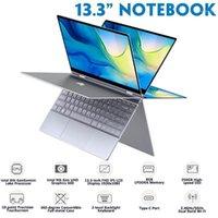 BMAX Y13 Laptop 13.3 Inch Intel Gemini Lake N4100 8GB RAM 256GB ROM SSD LPDDR4 1920 * 1080 IPS WIN 10 فائقة رقيقة