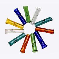 뜨거운 판매 두꺼운 유리 필터 튜브 1.4 인치 유리 필터 팁 고품질 원시 롤 종이 하나의 타자 파이프 흡연 액세서리