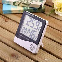 الصفحة الرئيسية دقة عالية في الأماكن المغلقة مع LCD الرقمية على مدار الساعة المنبه الإلكترونية مقياس الحرارة الرطوبة المنبه LX02229