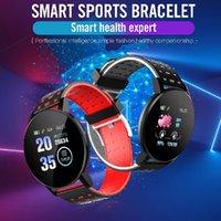 119 плюс умный браслет сердечных сокращений умные часы мужчина браслет спортивные часы Band водонепроницаемый SmartWatch Android с будильником