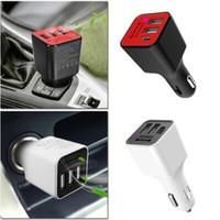 Адаптер кислородный генератор очиститель более легкий сокет 3 USB порт автомобильное зарядное устройство Многофункциональное портативное автоматическое очиститель воздуха