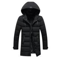 FAVOCENT Хорошее качество Мужская куртка супер теплые густые мужские зимние парки длинные пальто с капюшоном для досуга мужчины Parka Plus размер 5XL 210203