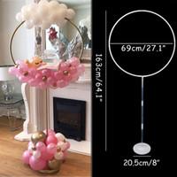 Kalp Daire Balon Kemer Çerçeve Balonlar Standı Tutucu Kiti Düğün Süslemeleri Balon Doğum Günü Partisi Bebek Duş Ballon Dekor Y0107