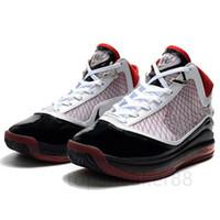 Kaliteli Fairfax Okul Takımı Kırmızı Erkek Basketbol Ayakkabıları 7 S Taze Bred Kral Eşit Işık Yılı Erkek Tasarımcı Spor Ayakkabı