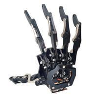 Robot El-Beş Parmak / Bitmiş Mini Biyonik El / Monte Robot Palm / Tutucu / Araba Aksesuarları / Sol / Sağ / DIY
