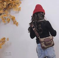 Tasarımcılar çanta çocuklar mektup baskılı messenger çanta kızlar tek-omuz çantası bayan tarzı çocuk çanta A5478