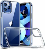 Прозрачный чехол для телефона для iPhone 12 Pro Max 11 XR x 7 8 Samsung Galaxy S21 S30 S20 Plus Ultra мягкая противодействие защитной крышке 1.0 мм