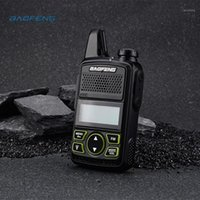 Baofeng BF-T1 Radio portable Mini Walkie Talkie Dual Ham Radio Communicador USB Interphone Deux voies Baofeng T1 US / EU1