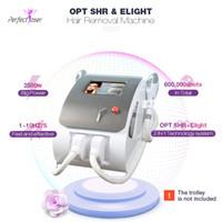 Nueva máquina de depilación IPL Máquina SHR IPL Máquina SHR OPT SISTEMA LÁSER ELIVE Elight RF Equipo de rejuvenecimiento de la piel Envío gratis