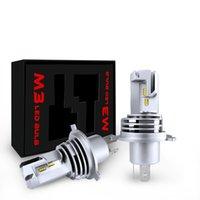 H4 LED H7 H8 H9 H11 9005 9006 자동차 헤드 라이트 전구 HB2 HB3 HB4 헤드 램프 55W 12V 6000LM 방수 안개 빛