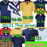 Scotland Retro Soccer Jersey Coupe du Monde Coupe du Monde Classic Vintage 1982 1986 1994 1998 1998 NOUVEAU 20 2021 Accueil Ecosse Hommes Kids Kits Kits Football Shirts