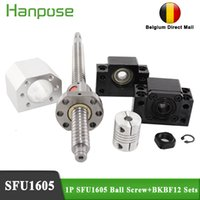 Freies Verschiffen SFU1605 ROLLED Kugelschraube 300mm mit Endbearbeitung + Ballnuss + Nussgehäuse + BK12 BF12 Unterstützung + Koppler für 3D-Druckermonitor