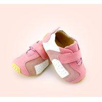 Tipsietoes бренд случайные детские малыши малыша босиком обувь мокасины для мальчика и девочек весенние модные кроссовки кожаные 201201