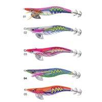 CHS024 Высокое качество ABS пластиковый корпус японского качества кальмар кондуктор музыку кальмара приманки и приманки Luminous 201106