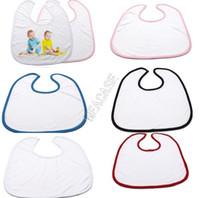 Sublimation Baby Baby Babe Mouchoir Chaleur Thermique Thermique Impression Garçons Garçons Filles DIY DIY BIAPS Écharpe Saliva Serviettes Burp Tissu D102905