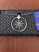Другие 2 шт. Из нержавеющей стали Quantum Scalar Energy PendantBlack Ожерелье Подвесной Оргон NEG Ионы EMF Protection1