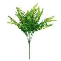 Kunstmatige struiken plastic planten Perzisch gras varen bladeren nep struiken bruiloft huis tuintafel decoratie JK2102PH
