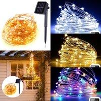 Moderna 100 Led Lighting catena 10m policromi natalizia Natale solare esterno ornamento lampada String 2 Modalità 13 9LS G2