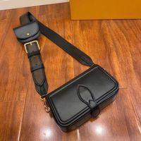 جلد طبيعي الأزياء حقيبة الكتف هيئة الصليب حقيبة التوأم مجموعة حقيبة يد حقيبة للرجال طويل النظر مصغرة حزمة الكتف حقيبة سيدة بالجملة