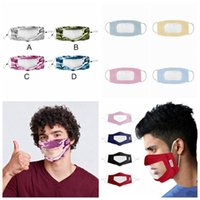 Reusable Transparent Face Antifog Camouflage Anti Deaf- mute ...