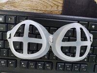 3D قناع القوس قابلة لإعادة الاستخدام PE البلاستيكية الوجه الداخلي أقنعة حامل الصلبان كوة شكل قناع حامل 0 35yl L2