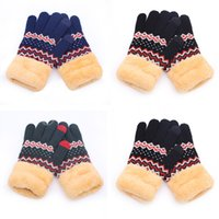 Women' s knitted gloves touch screen winter women' s...