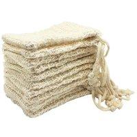 2021 30 Pack Natürliche Seif Seifenbeutel Peeling Seifenschoner Beutelhalter Küche Lagerorganisation Schneller Schiff
