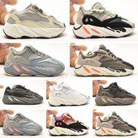 Yeezy Boost 700 V2 Big Kids 700 Wave Runner per Kid Mauve Sneakers Youth Inertia Sneaker Versia Enfants Chaussures Sport sportivi adolescenti Scarpe da ginnastica Bambini Bambini