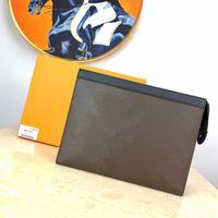 حامل المصممين Luxurys Portafoglio بطاقة الأزياء المحافظ pochette الرحلة الكلاسيكية حقيبة محفظة مع المحافظ حقيبة مخلب الغبار مربع محفظة