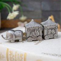 Creative Elephant Tirez sur Panier Ma première dent et Curl Keepks Box Set, Baby dents Fairy Coffrets cadeaux pour enfants enfants