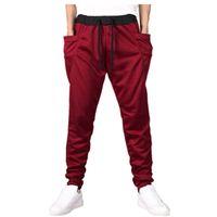 Yeni Satış En Kaliteli MKASS Marka Erkek Baskı Işın Ayak Aktif Joggers Kalem Pantolon Erkekler Hip Hop Sweatpants 10 Renkler 201222