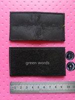Вышитые индивидуальные симуляторы кожаные этикетки PU теги для бренда имен сумка одежда Имя теги кожаный патч метка